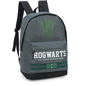 Mochila Escolar Harry Potter Gd 1Bolso Cinza Luxcel