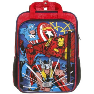 Mochila Escolar Marvel Comics G Max Super Dmw