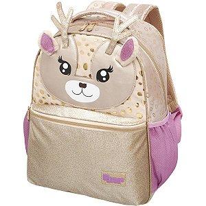 Mochila Escolar Pack Me Deer Friend Pacific