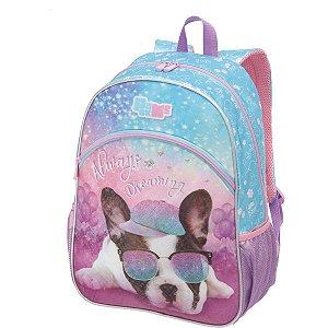 Mochila Escolar Pack Me Puppy Dog Grande Pacific