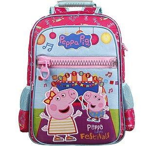 Mochila Escolar Peppa Pig Polinylon G Dermiwil