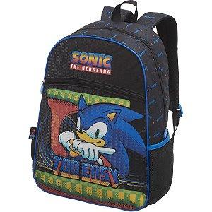 Mochila Escolar Sonic Speed Dots Pacific