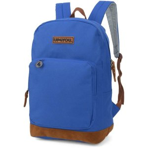 Mochila Escolar Up4You Gd 1Bolso Azul Luxcel
