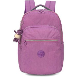 Mochila Escolar Up4You Gd 4Bolsos Roxo Luxcel