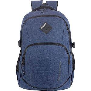 Mochila Para Notebook Executive Azul Marinho C/3Bols Xeryus