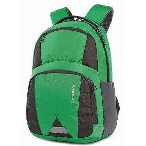 Mochila Para Notebook I.o P/tablet 4Bolsos Verde Samsonite