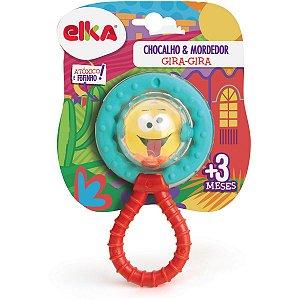 Mordedor Infantil Gira Gira C/chocalho Elka