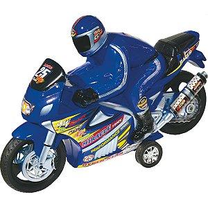 Moto Racer Movida A Friccao C/som Lider