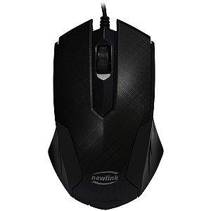 Mouse Optico Usb 1000Dpi Grid Cabo 1.5M Newex