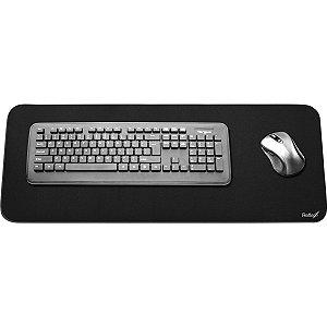 Mouse Pad P/teclado/mouse Preto 75X27Cm Reflex