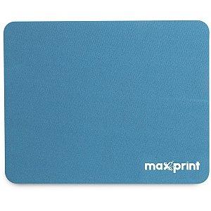 Mouse Pad Tecido Azul 22Cmx18Cm Maxprint