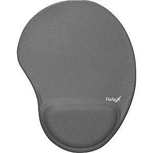 Mouse Pad Tecido Cinza 19X25Cm C/apoio Reflex