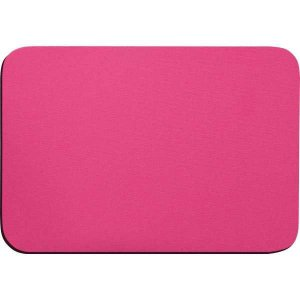 Mouse Pad Tecido Pink Emborrachado Reflex