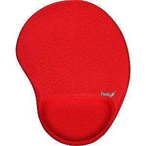 Mouse Pad Tecido Vermelho 19X25Cm C/apoi Reflex