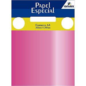 Papel A4 Color Color Mais Rs Metalico 120G. Romitec