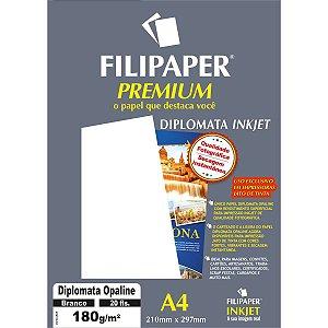 Papel A4 Diplomata Premium Branco 180G. Filiperson