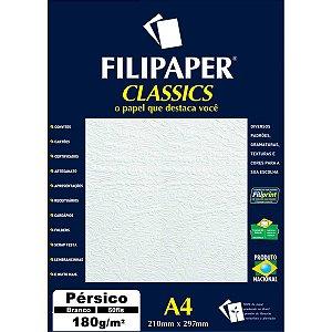 Papel A4 Persico Branco 180G. Filiperson