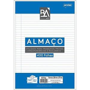 Papel Almaco Basic Art C/pauta Margem Jandaia
