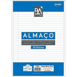 Papel Almaco Basic Art C/pauta Margem C/16F Jandaia