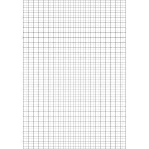 Papel Almaco Quadriculado 1X1Cm Tamoio