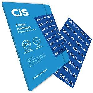 Papel Carbono Para Lapis Cis Filme Azul A-4 Sertic