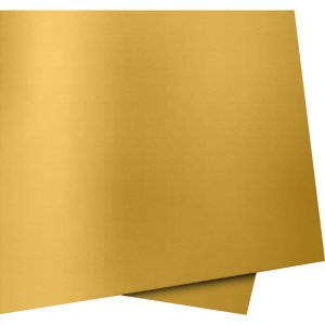 Papel Cartolina Dupla Face Color Set Ouro 66X48 5Fls. Novaprint