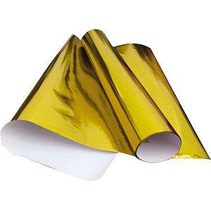 Papel Cartolina Laminado 48X60Cm. Amarelo V.m.p.