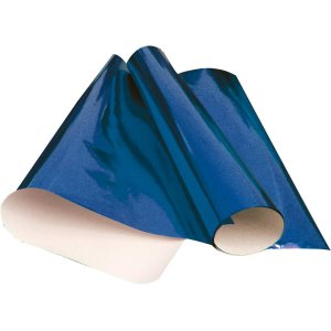 Papel Cartolina Laminado 48X60Cm. Azul V.m.p.