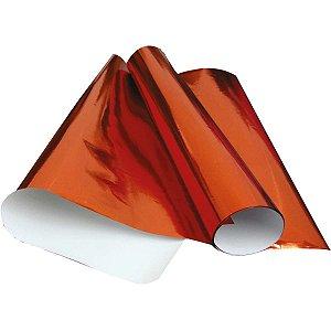 Papel Cartolina Laminado 48X60Cm. Vermelho V.m.p.