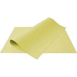 Papel Cartolina Amarela Escolar 50X66Cm 180G. Multiverde
