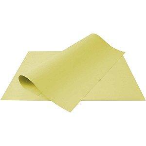 Papel Cartolina Amarelo Escolar 50X66Cm 140G Multiverde