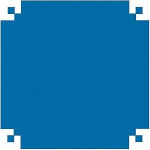 Papel Celofane 80X80Cm. Liso Azul Celeste V.m.p.