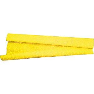 Papel Crepon 48Cmx2,00M.amarelo V.m.p.