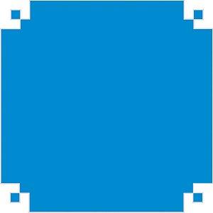 Papel De Seda Azul Celeste 48X60Cm 20G V.m.p.