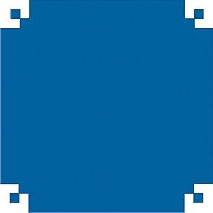 Papel De Seda Azul Escuro 48X60Cm 20G V.m.p.