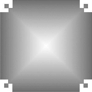 Papel De Seda Prata 48X60Cm 20G V.m.p.