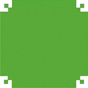 Papel Dobradura 50X60Cm. Verde Bandeira V.m.p.