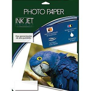 Papel Fotografico Inkjet A4 Glossy Adesivo 180G Mares