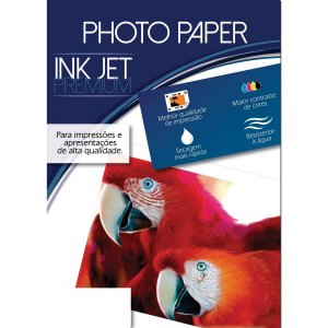 Papel Fotografico Inkjet A4 Glossy Premium 180G Mares