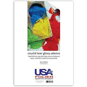 Papel Fotografico Laser A4 Glossy Couche Adesivo 90G Usa Folien