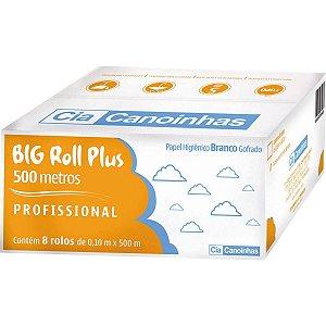 Papel Higienico Big Roll Folha Simples 500M Cia Canoinhas
