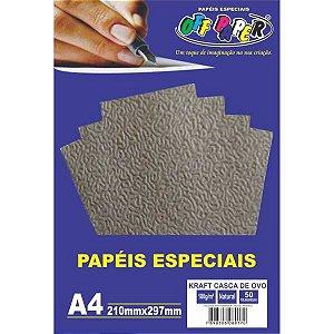 Papel Kraft Folha Casca De Ovo A4 180G Off Paper
