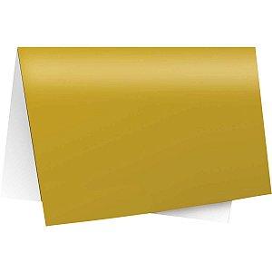 Papel Laminado 45X59Cm. Lamicor Ouro/amarelo Cromus