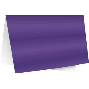 Papel Laminado 45X59Cm. Lamicor Violeta Cromus