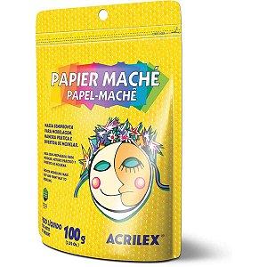 Papel Mache 100G Acrilex