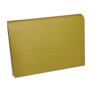 Papel Microondulado Ouro 50X80Cm 230G V.m.p.
