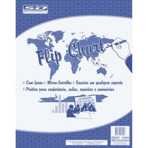 Papel Para Flip-Chart Microserrilhado 63X80 63G.50Fl Sao Domingos