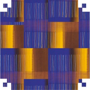 Papel Presente Bobina Couche 60Cm.mod.348 Quadrados V.m.p.