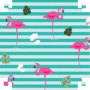 Papel Presente Bobina Couche 60Cm.mod.607 Flamingo 2 V.m.p.