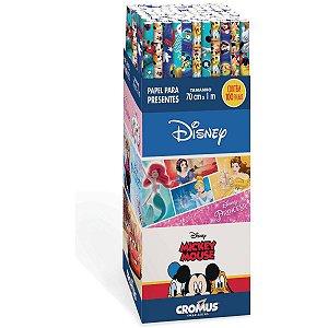 Papel Presente 100X70Cm. Disney Sortidos Cromus